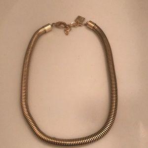 Anne Klein gold necklace